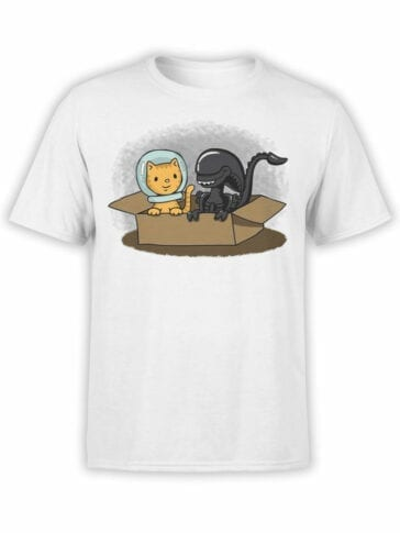 1750 Friends T Shirt Alien T Shirt Front