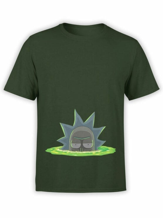 1768 Dimension Rick and Morty T Shirt Front