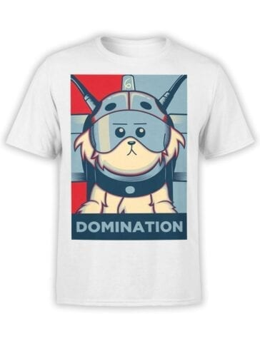 1784 Domination Rick and Morty T Shirt Front
