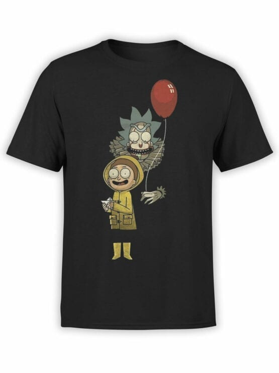 1785 Game Rick and Morty T Shirt Front