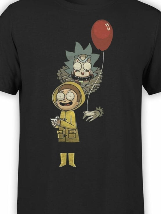 1785 Game Rick and Morty T Shirt Front Color