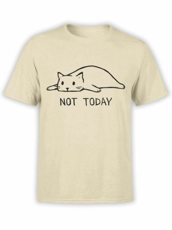 1807 Not Today T Shirt Front