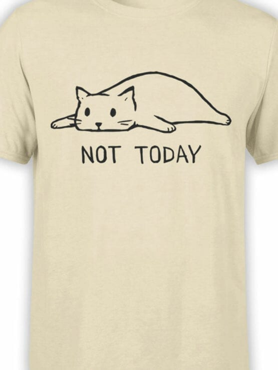 1807 Not Today T Shirt Front Color