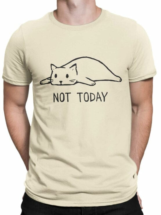 1807 Not Today T Shirt Front Man
