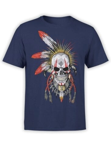 1808 Dead Warrior T Shirt Front
