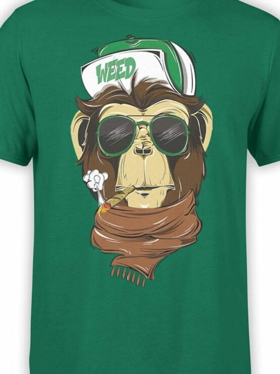 1809 Weed T Shirt Front Color