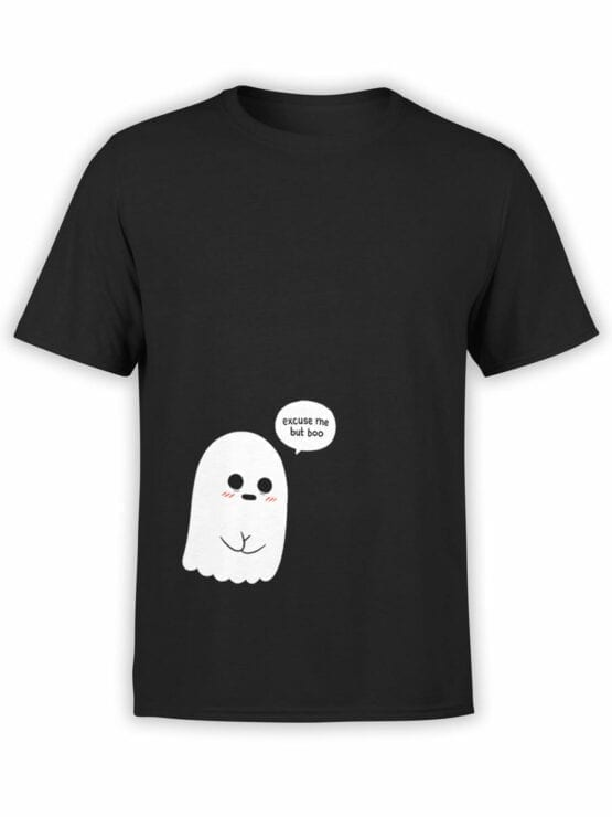 1816 But Boo Cute Ghost T Shirt Front