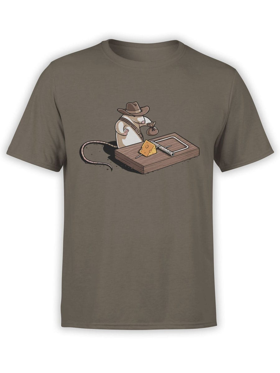 1871 Indiana Mouse T Shirt Front