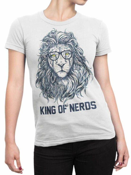 1874 King of Nerds T Shirt Front Woman