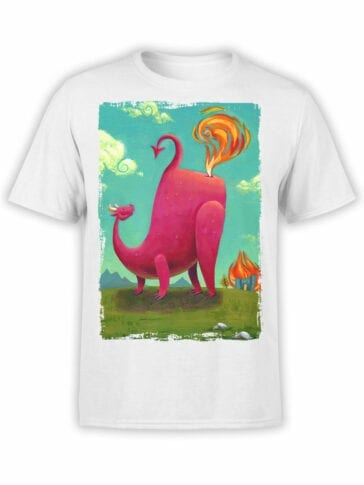 1875 Dragon Farts T Shirt Front