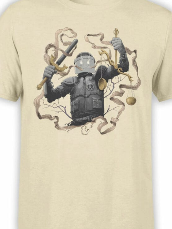 1889 Justice T Shirt Front Color