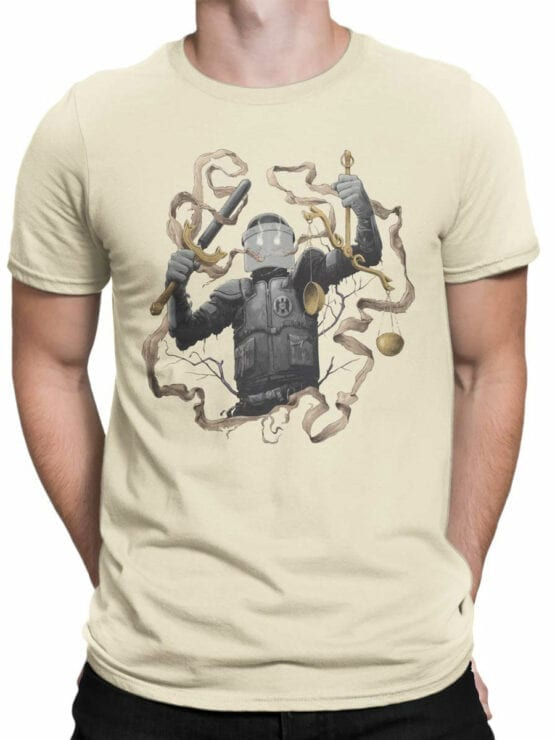 1889 Justice T Shirt Front Man