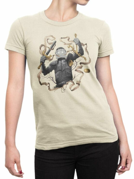 1889 Justice T Shirt Front Woman