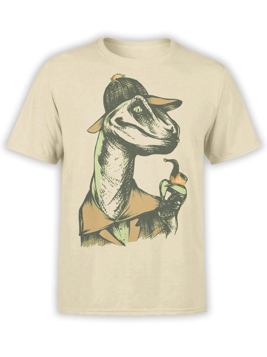 1919 Dino Detective T Shirt Front