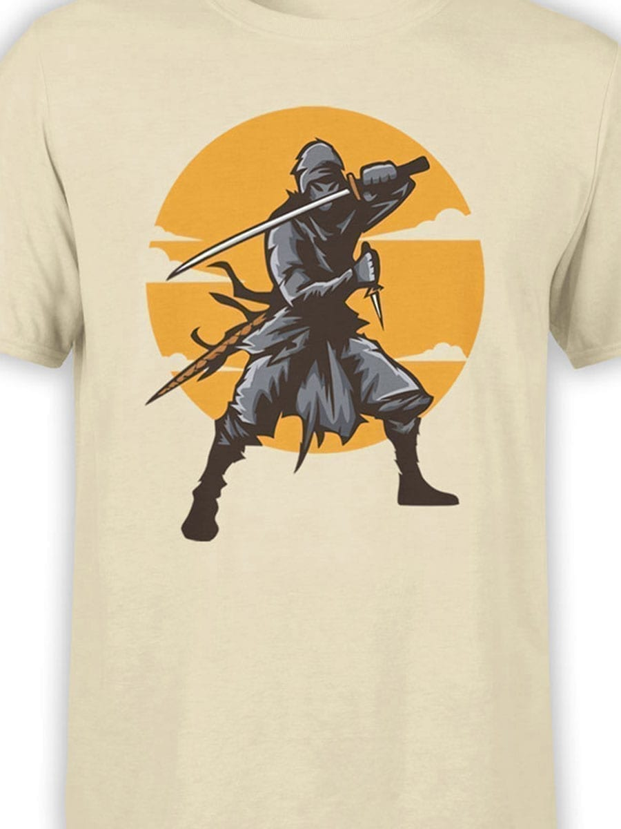1927 Ninja T Shirt Front Color