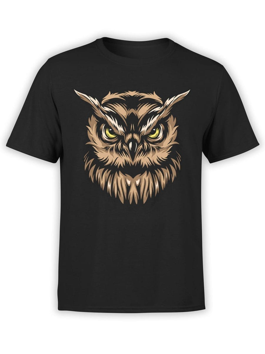 1931 Angry Owl T Shirt Front