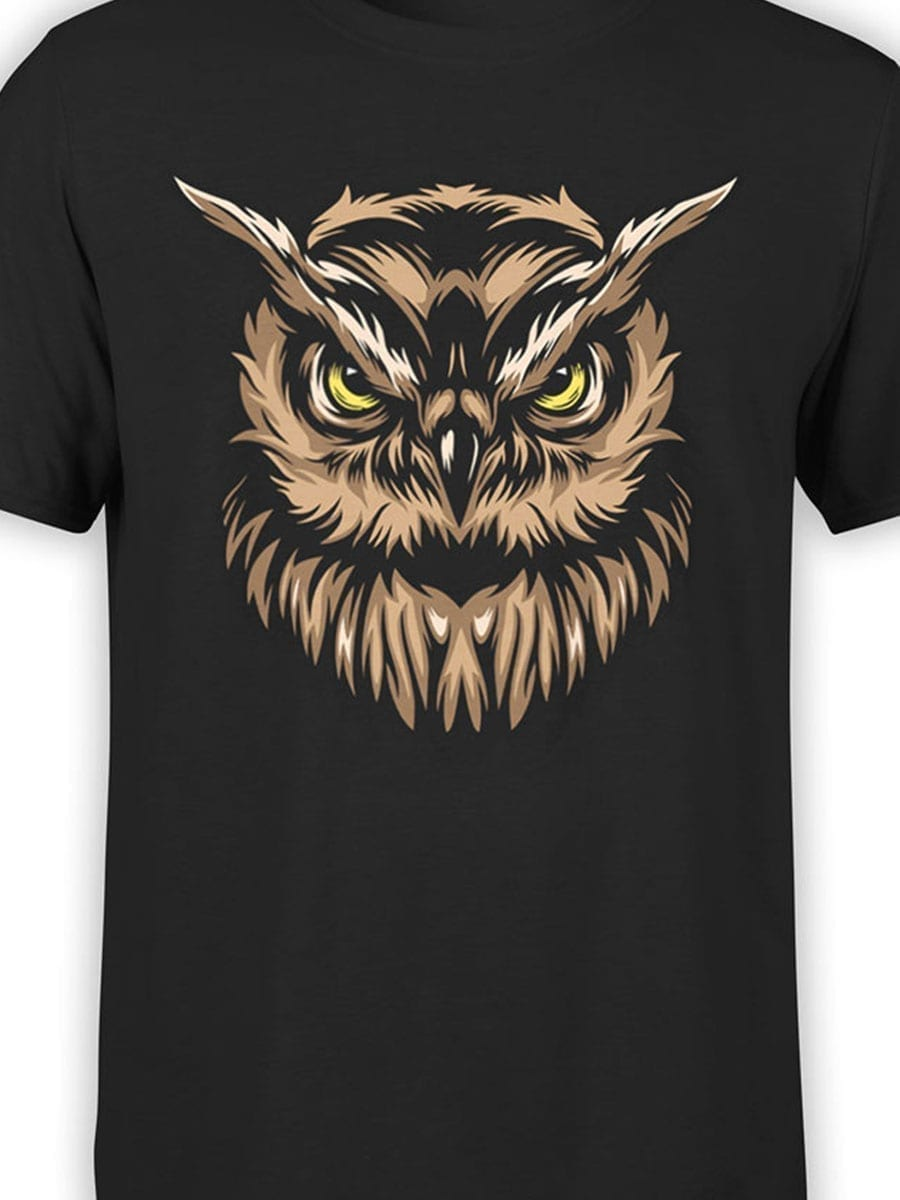 1931 Angry Owl T Shirt Front Color