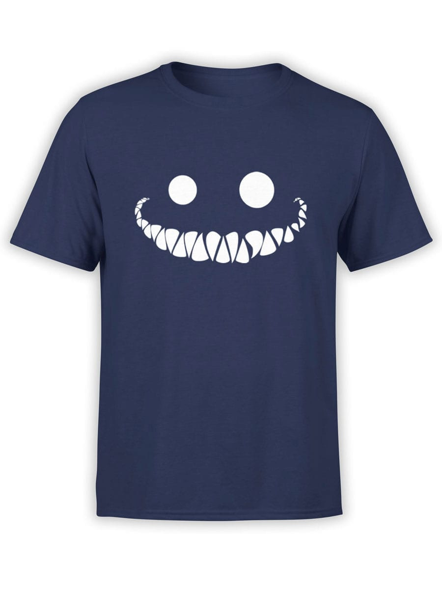 1946 Cheshire Cat Smile T Shirt Front