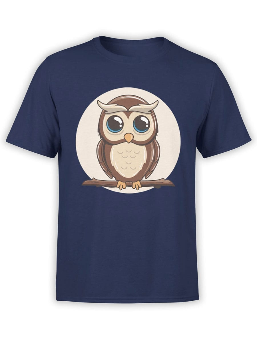 1951 Cute Owl T Shirt Front