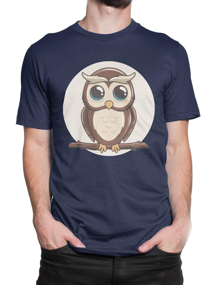 1951 Cute Owl T Shirt Front Man 2