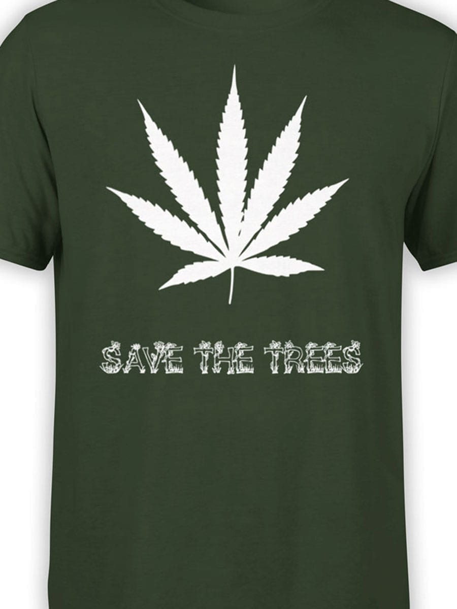 1964 Save the Trees T Shirt Front Color