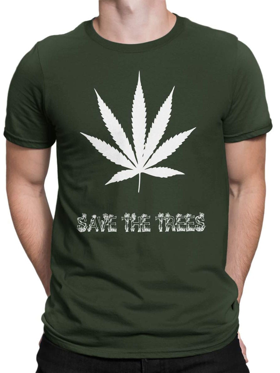 1964 Save the Trees T Shirt Front Man