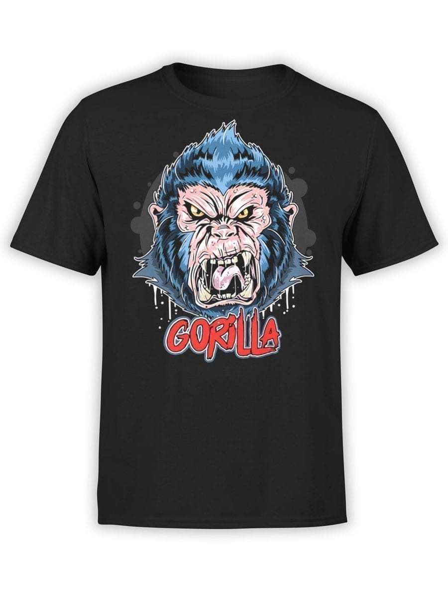 1971 Angry Gorilla T Shirt Front