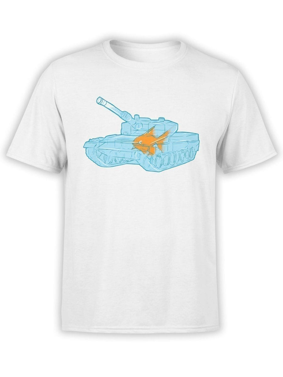 1986 Fish Warrior T Shirt Front