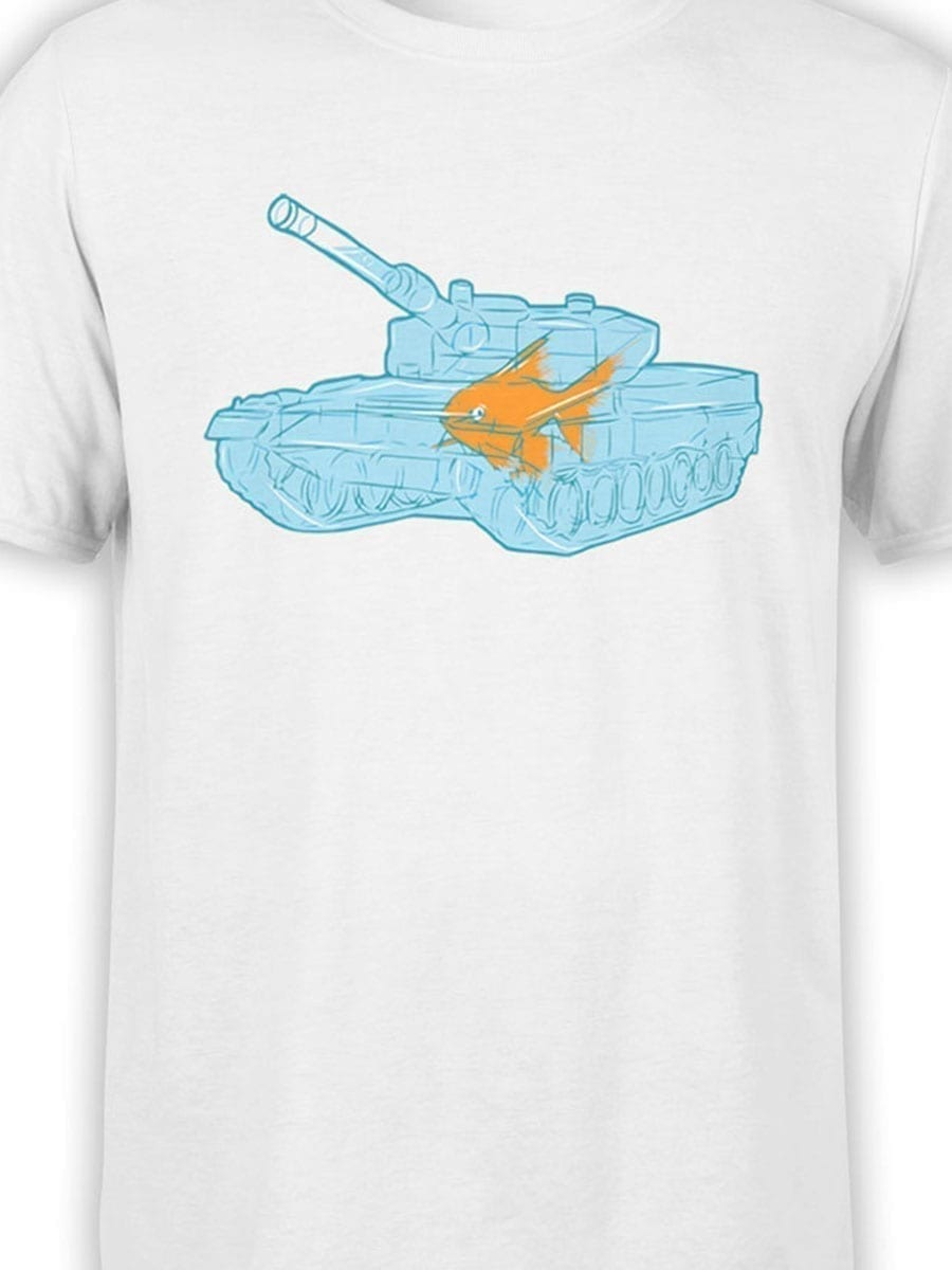 1986 Fish Warrior T Shirt Front Color