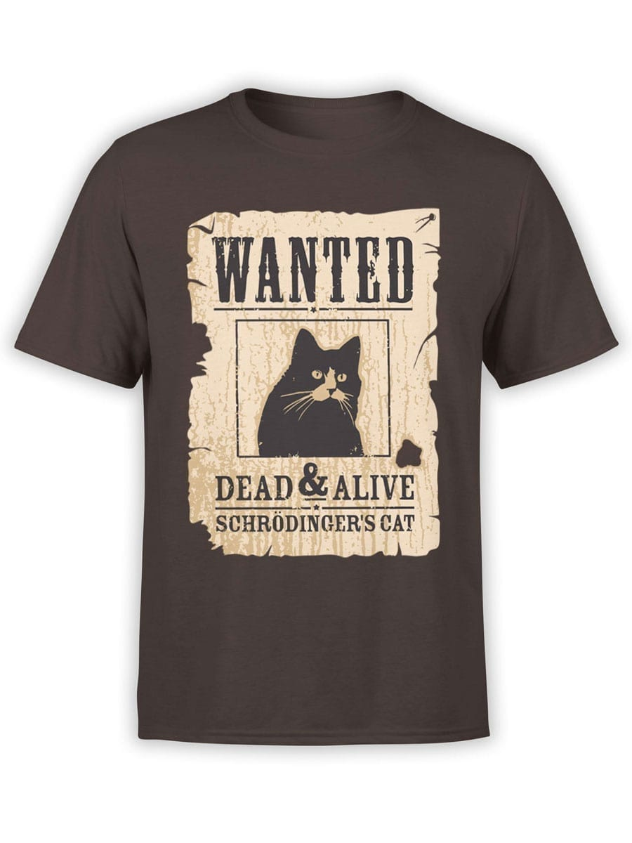 1991 Wanted Cat T Shirt Front