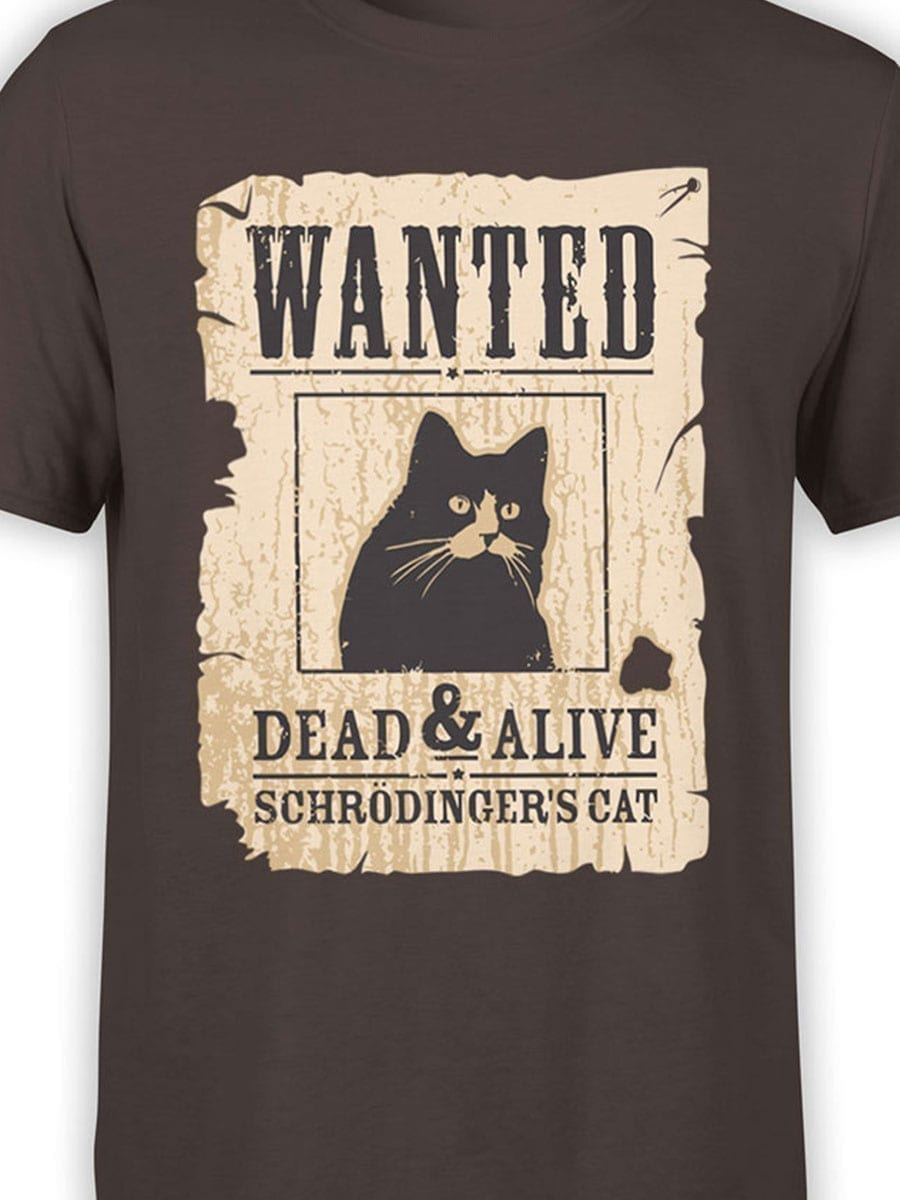 1991 Wanted Cat T Shirt Front Color