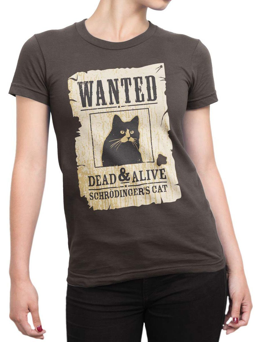 1991 Wanted Cat T Shirt Front Woman