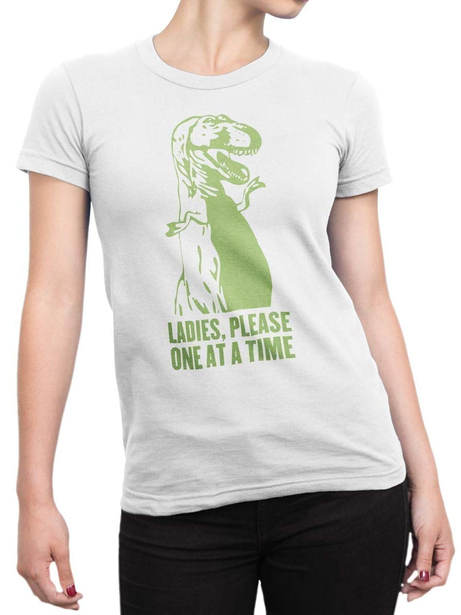 1996 Please T Shirt Front Woman
