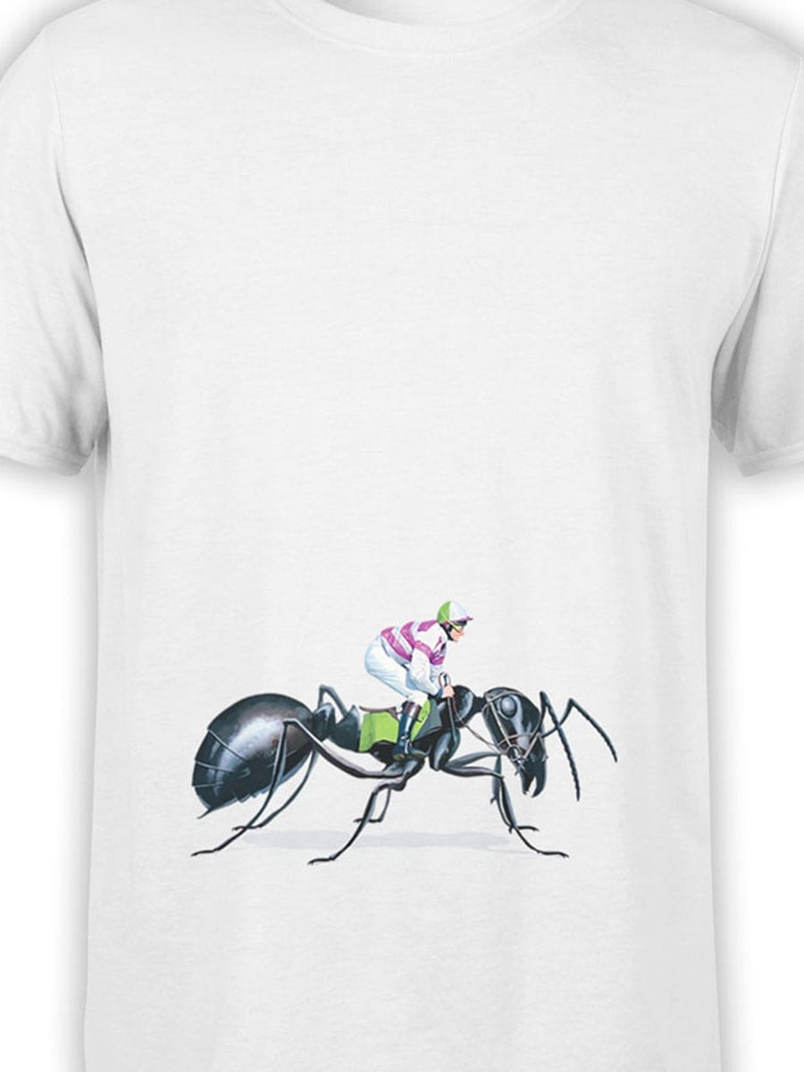 2000 Ant Jockey T Shirt Front Color