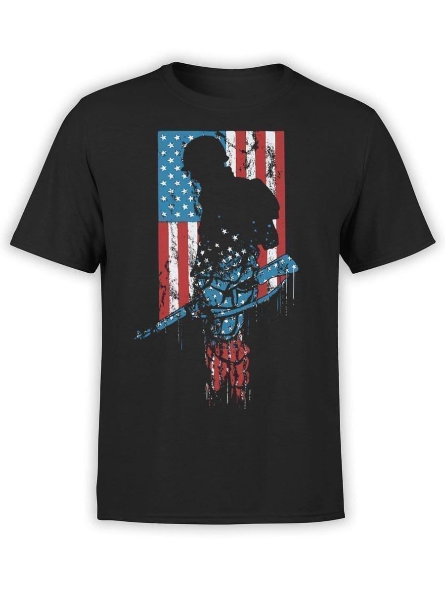 2005 Soldier T Shirt Front