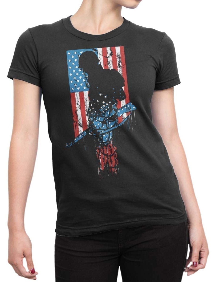 2005 Soldier T Shirt Front Woman