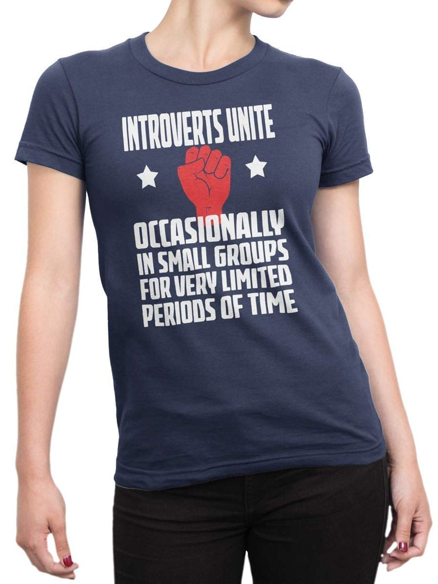 2006 Introverts T Shirt Front Woman