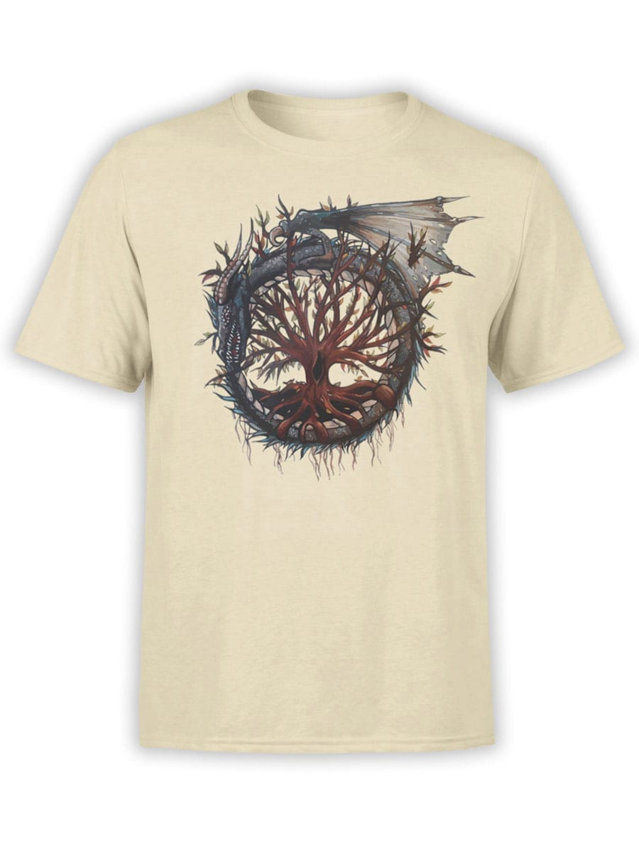 2010 Dragon Tree T Shirt Front