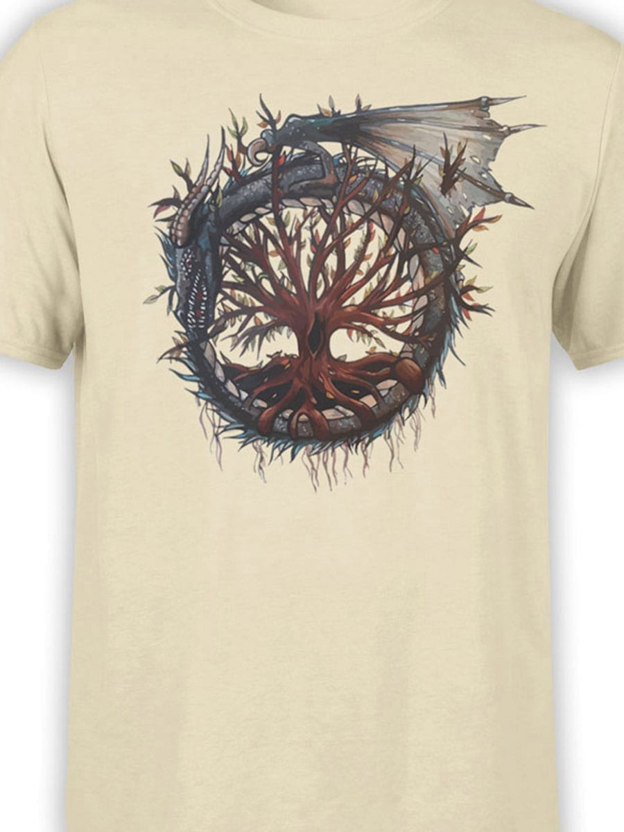 2010 Dragon Tree T Shirt Front Color