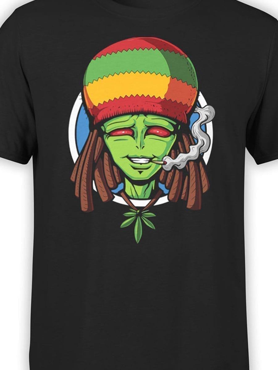 2015 Rastalien T Shirt Front Color