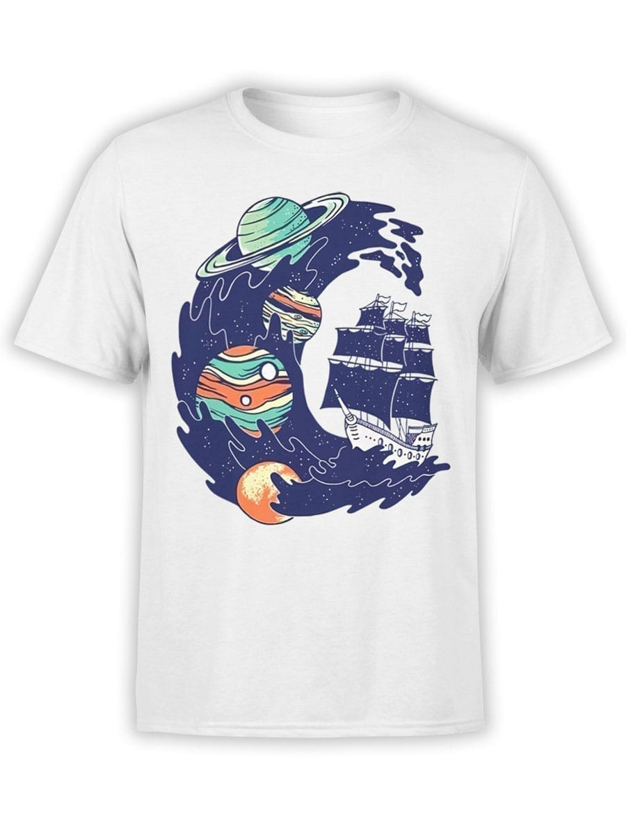 2018 Cosmo Wave T Shirt Front