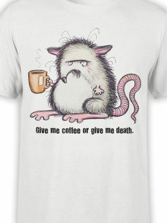 0688 Coffee Shirts Give Me Front Color